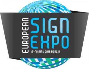 European Sign Expo 2018 Logo