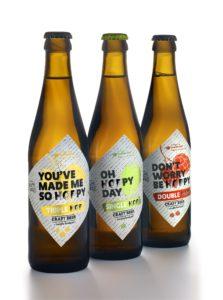 Beer bottle labels