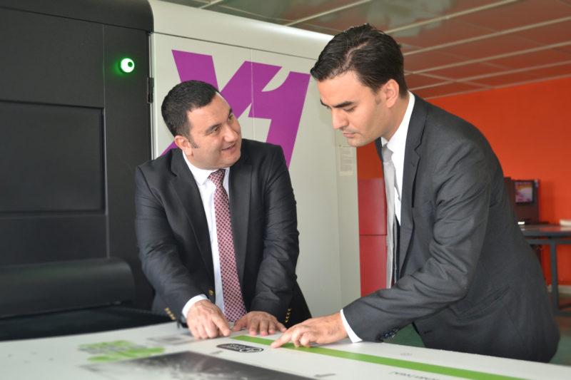 Osman Bozcaarmutlu (left) and Mert Şenhelvacılar (right) of Kaplamin Ambalaj