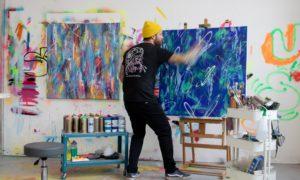 Ben Allen designing new graffiti theme for World Wrap Masters 2020