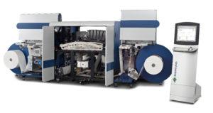 Domino N610i digital ink jet label press