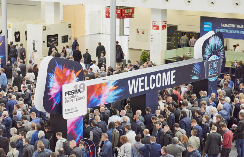 FESPA 2019 show opening