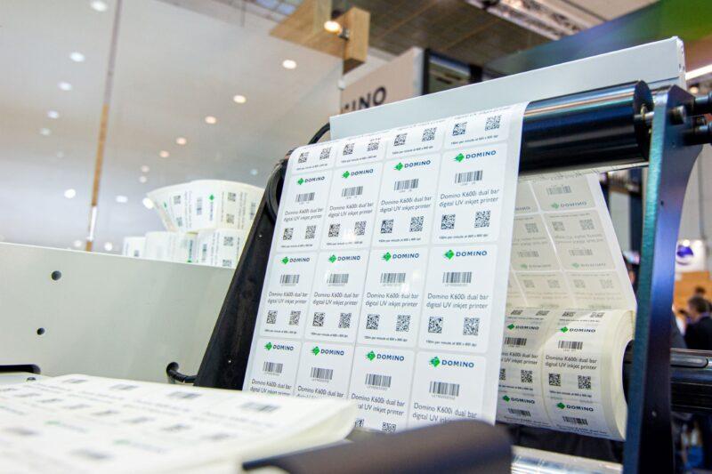DOMINO K600i Barcodes 2D Codes