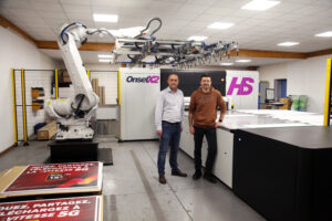 Regis Broussin, CEO and Richard Charrier, Technical Director, SDPS