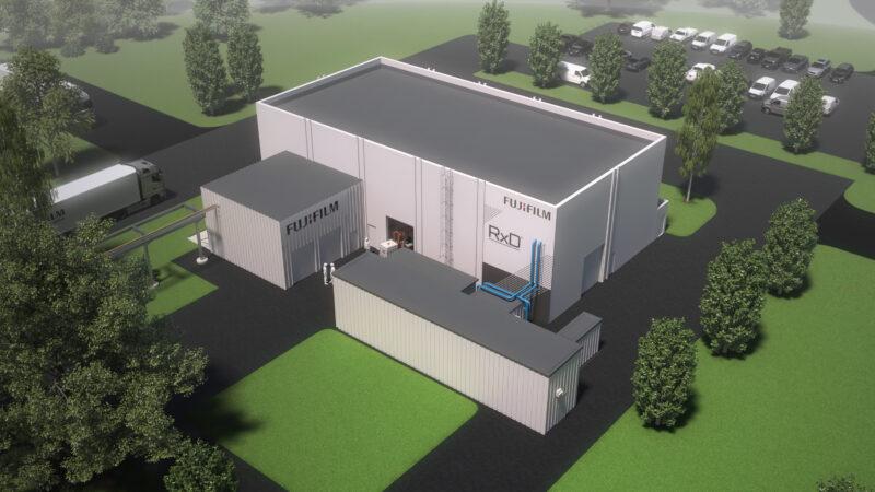 Fujifilm COUS RxD plant artist visualisation