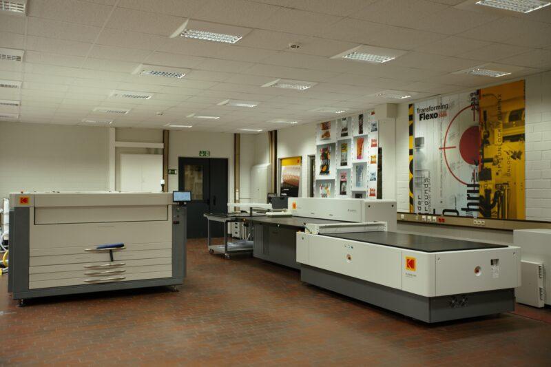 WH Technology Center Flexo plate room